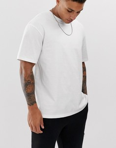 Белая oversize-футболка Topman - Белый