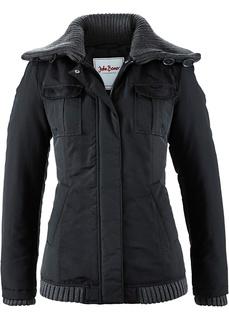 Все куртки Зимняя куртка с вязаными деталями Bonprix
