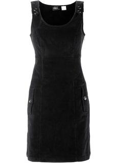 Короткие платья Вельветовый сарафан-стретч Bonprix