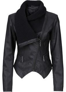 Куртка-косуха из искусственной кожи Bonprix