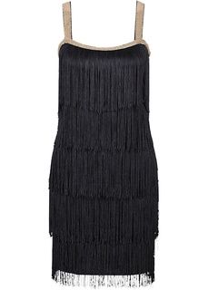Короткие платья Платье с бахромой Bonprix