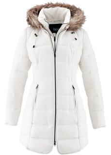 Пальто Стеганая куртка с капюшоном Bonprix