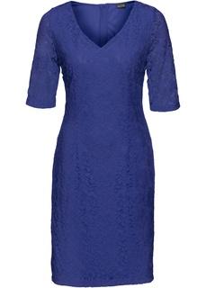 Платья с коротким рукавом Кружевное платье Bonprix