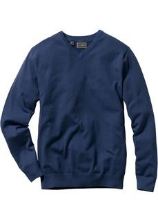 Пуловерыи кардиганы Пуловер с V-образным вырезом Bonprix