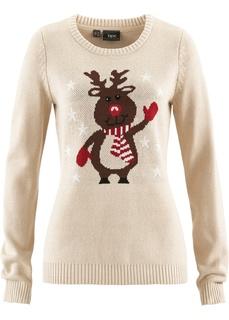 Пуловеры Новогодний пуловер Bonprix