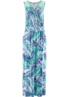 Длинные платья Трикотажное платье макси Bonprix