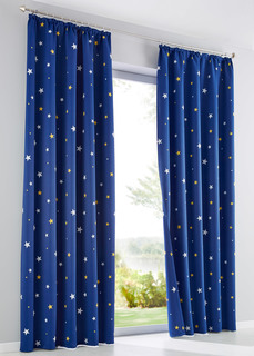 Плотные шторы Штора блэкаут со звёздами (1 шт.) Bonprix