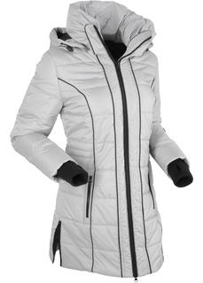 Пальто Удлиненная стеганая куртка Bonprix