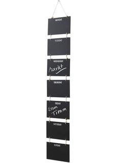 Элементы декора и картины Доски для записей на всю неделю Bonprix