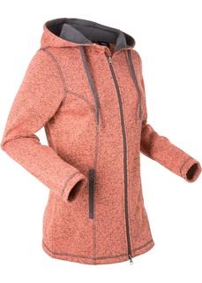 Толстовки Вязаная флисовая куртка Bonprix