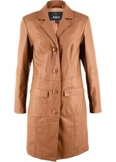 Пальто из искусственной кожи Bonprix