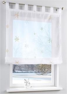 Римские шторы Римская штора Снежинка Bonprix