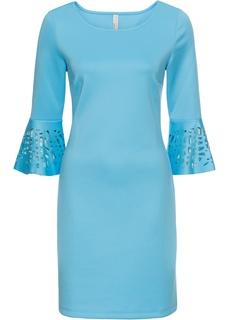 Платья с длинным рукавом Платье с разрезами Bonprix
