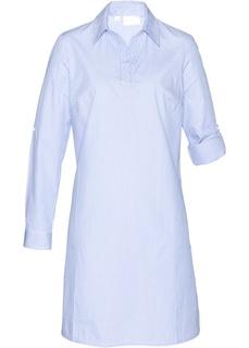 Блузки с длинным рукавом Платье рубашечного покроя Bonprix