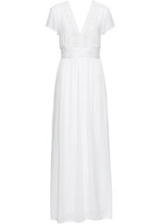 Платье макси с кружевом Bonprix