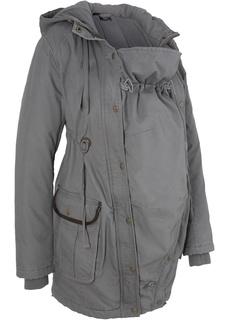 Куртки Парка для беременных с карманом-вкладкой для малыша Bonprix