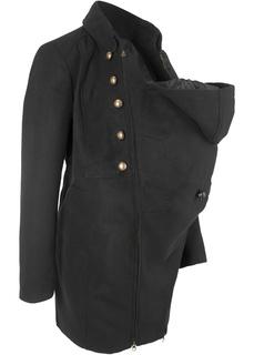 Куртки Пальто для беременных с карманом-вкладкой для малыша Bonprix