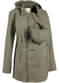 Куртки Ветровка-зофтшелл для будущих и кормящих мам с карманом для младенца Bonprix