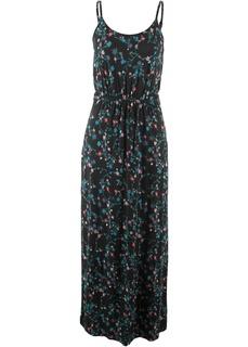 Длинные платья Платье длиной в пол с принтом Bonprix