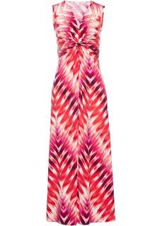 Длинные платья Платье макси с принтом Bonprix