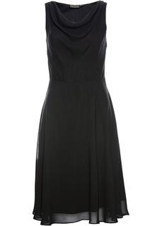 Короткие платья Платье с вырезом-хомут Bonprix