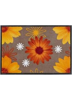 Придверные коврики Коврик придверный с цветочным рисунком Bonprix