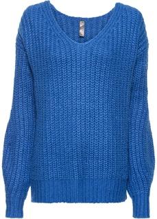 Пуловеры с V-образным вырезом Пуловер вязаный Bonprix