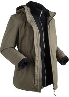 Все куртки Куртка 3 в 1, внутренняя куртка из мягкого флиса Bonprix
