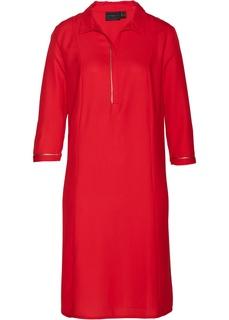 Платья с длинным рукавом Платье рубашечного покроя Bonprix