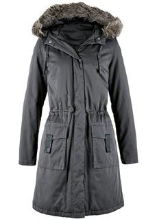 Пальто Модная длинная куртка-парка Bonprix