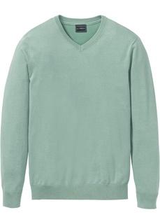 Мужские пуловеры Пуловер с V-образным вырезом Bonprix