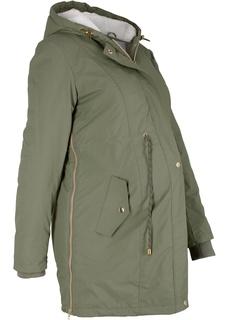 Куртки Парка на плюшевой подкладке для беременных Bonprix