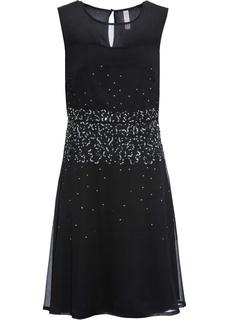 Короткие платья Платье с пайетками Bonprix