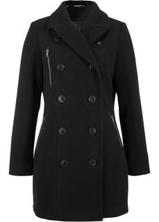Куртка удлиненная из ткани под шерсть Bonprix