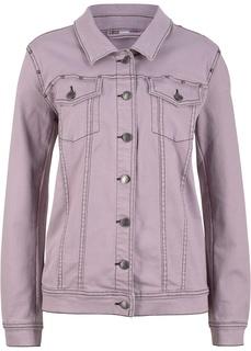 Джинсовые куртки Куртка из денима стрейч с заклепками Bonprix