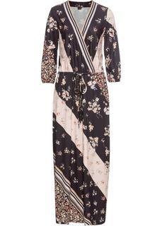 Длинные платья Макси-платье с рисунком Bonprix