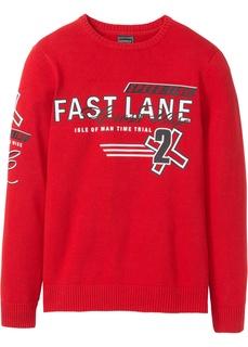 Мужские пуловеры Пуловер Regular Fit из переработанного хлопка Bonprix