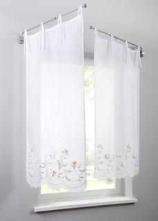 Короткие шторы Панно Джули (1 шт.) Bonprix