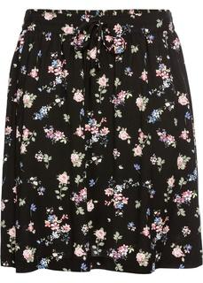 Короткие юбки Юбка с цветочным узором Bonprix