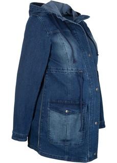 Куртки Парка джинсовая для беременных Bonprix
