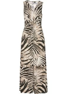 Длинные платья Платье длинное трикотажное Bonprix