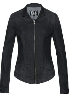 Джинсовые куртки Куртка джинсовая на молнии Bonprix