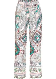 Длинные брюки Брюки с рисунком Bonprix