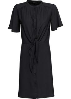 Платья с коротким рукавом Платье с декоративным узлом Bonprix