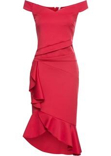 Короткие платья Платье с воланами Bonprix
