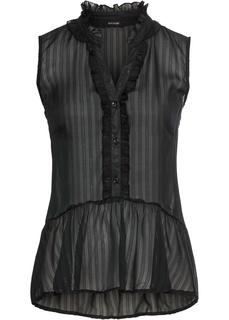 Блузки с коротким рукавом Блузка с люрексом Bonprix