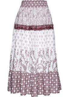 Длинные юбки Юбка с принтом Bonprix