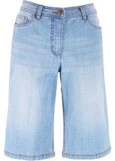 Джинсовые шорты Бермуды джинсовые Bonprix