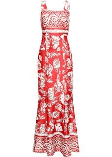 Длинные платья Платье с принтом Bonprix