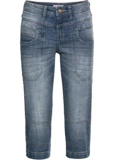 Капри джинсовые стрейч Bonprix